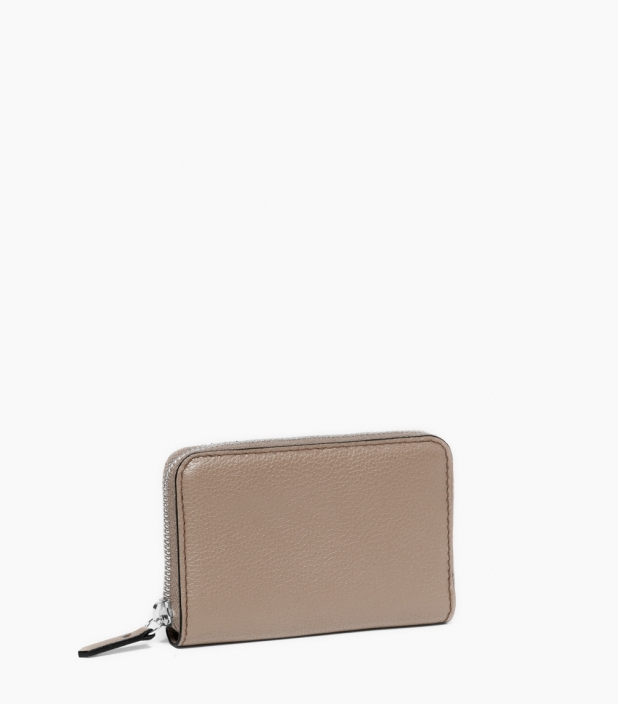 Zipped change purse 4c, dove