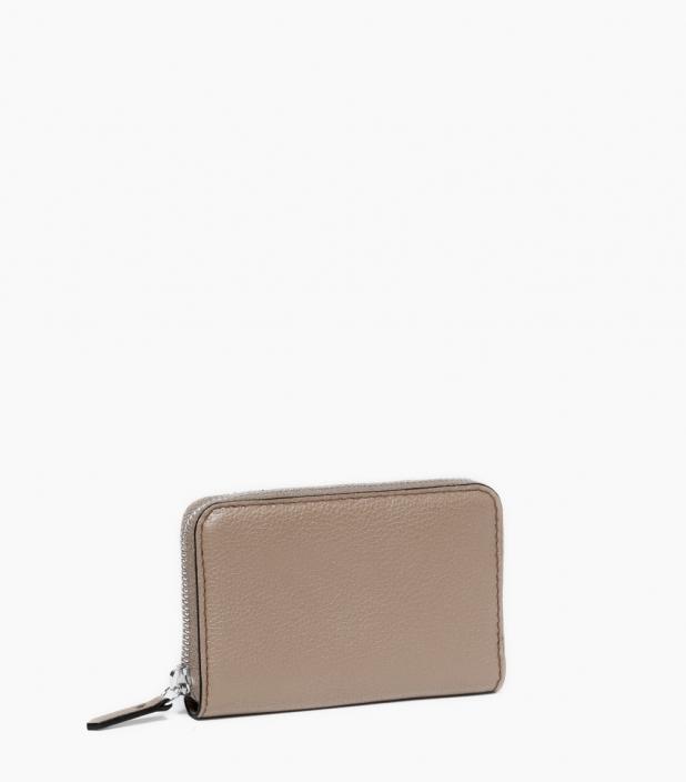 Zipped change purse 4c, dove