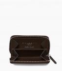 Zipped change purse 4c, black