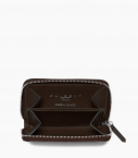 Zipped change purse 4c, black