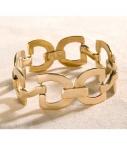 Guibert small mesh bracelet bronze