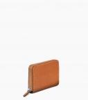 Guibert Paris - porte monnaie zippé 4 cartes en cuir taurillon