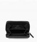 Guibert Paris - Zipped Change Purse 4 cards black
