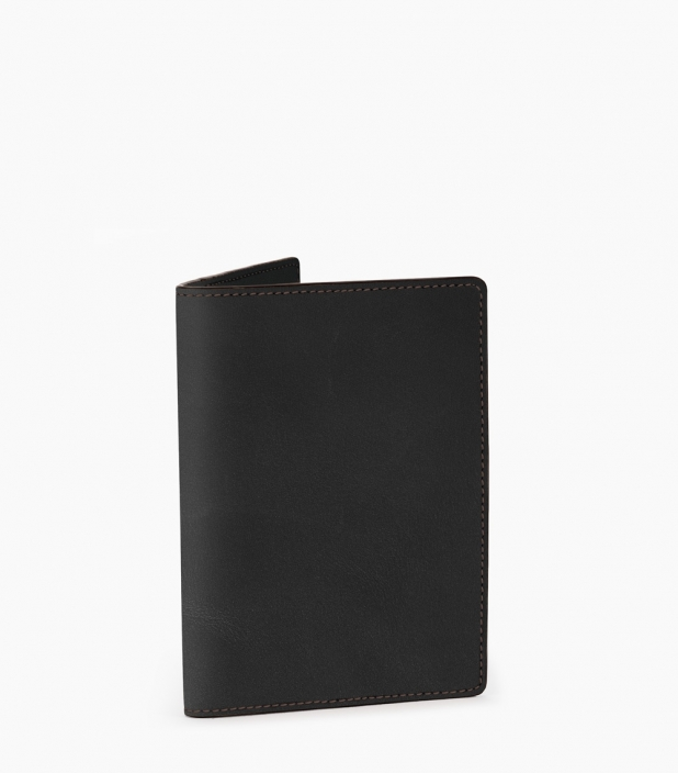 Porte-passeport Barénia® Indiana, noir