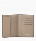 Passeport holder taurillon Pessoa, dove