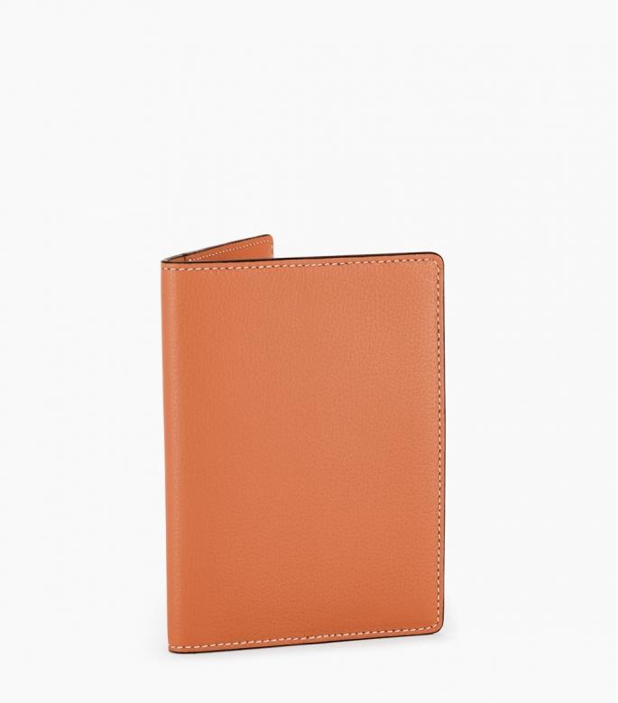 Passeport holder taurillon Pessoa, gold