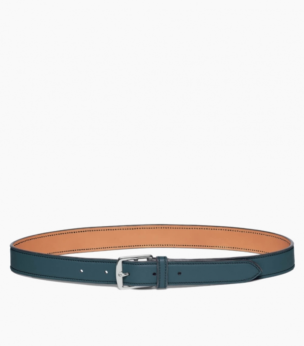 Guibert Paris - Stirrup buckle belt in taurillon leather