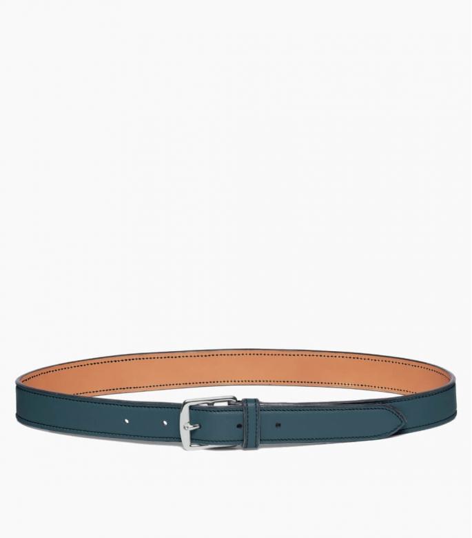 Guibert Paris - Stirrup buckle belt in taurillon leather