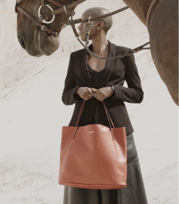 Saddle Bag Pony massaï, taurillon Pessoa
