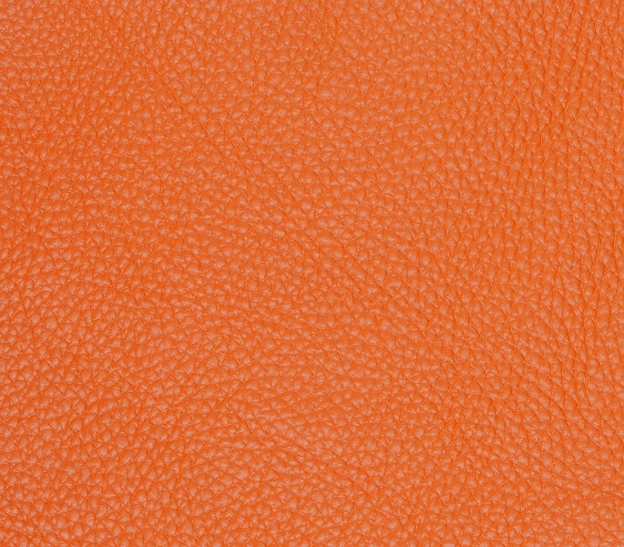 Cuir taurillon, orange