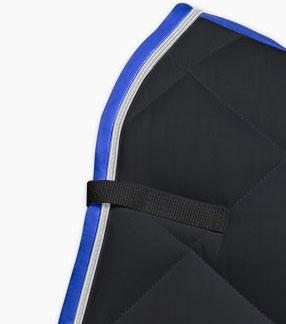 Noir/Argent/Bleu