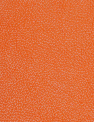 Taurillon leather, orange