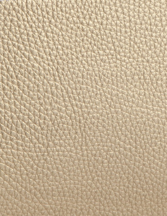 Taurillon Socoa leather, golden